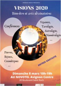 Osmose Visions 2020 : Bien-être et arts divinatoires