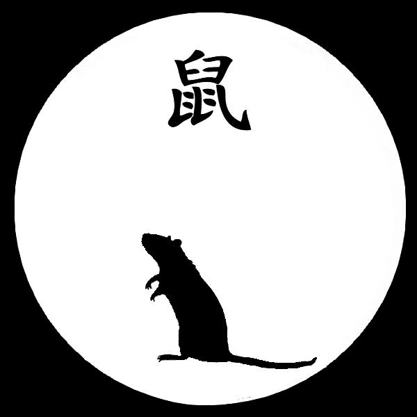 Astro chinoise : le rat de terre